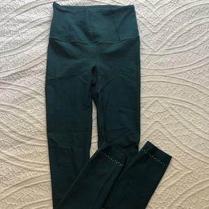 Lululemon High-rise Green Leggings 7/8 Size 4